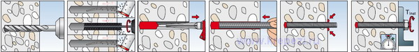 Химический анкер FIS SB инструкция