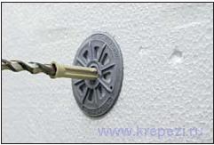 Дюбель для теплоизоляции Termoz KS 8